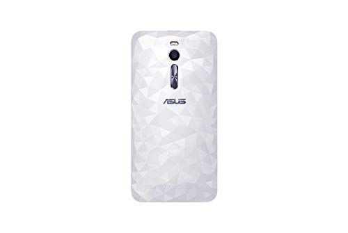 ASUS Zenfone 2 Zen Case Battery Back Cover Door in Retail Packaging (Replacement Case for ZE551ML) (Illusion-White)
