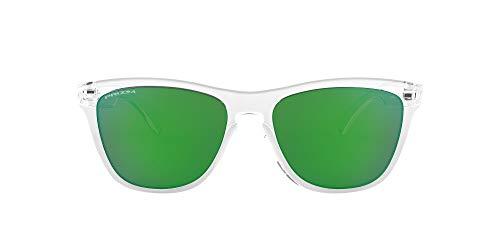 Oakley Frogskins 9013d6 Gafas de sol, Crystal Clear, 54 para Hombre