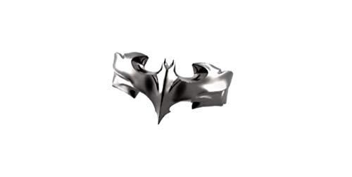 Anillo de Batman para hombres y mujeres, anillo de Batman, unisex, anillo de Batman de plata de ley 925, todos los Estados Unidos, envíenos un mensaje de su tamaño de anillo