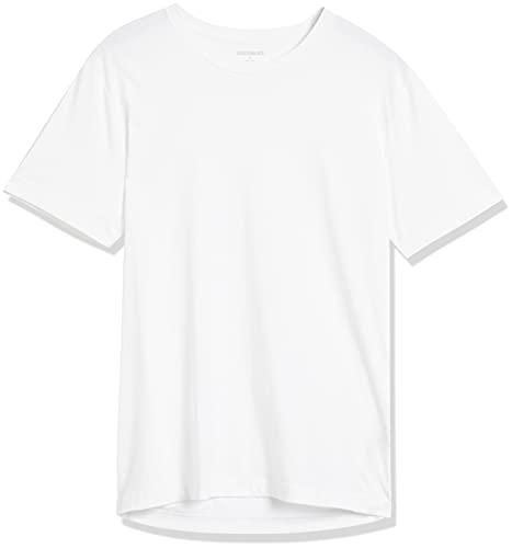 Amazon Brand - Goodthreads Men's The Perfect Crewneck T-Shirt Short-Sleeve Cotton, White, XX-Large