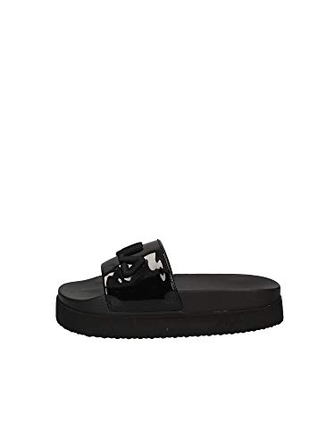 Fila Damen Morro Bay Sandal, Black/Black, 40 EU