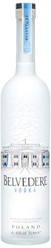 Belvedere Wodka Pure mit LED-Beleuchtung (1 x 3 l)
