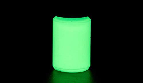 NighTec Nachtfarbe extreme Leuchtfarbe 100 ml nachleuchtende Wandfarbe (gelb-grün)