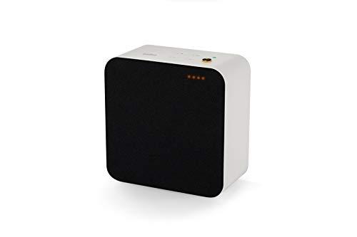 Braun Audio LE03 Premium HiFi Design Lautsprecher (raumfüllender Sound dank BMR-Treiber, WiFi, Bluetooth, Streaming, Airplay 2, Chromecast, Multiroom, Sprachsteuerung, Privatmodus, App), Weiss