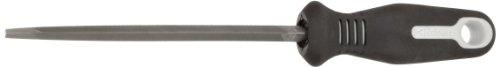 Nicholson Triangular Slim Taper Hand File With Ergonomic Handle, Single Cut, American Pattern, 6' Length (Pack of 1)