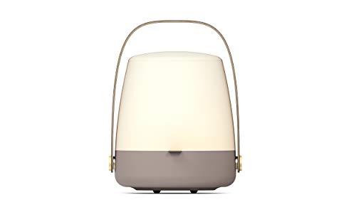 Kooduu Lite-Up - Design LED-Licht, Hochwertige Nachttischlampe - Dimmbar, Tischlampe für Kinderzimmer und Stimmungslicht in Schlafzimmer & Wohnzimmer - Dänisches Design, Kabellos, 20x26cm - Earth