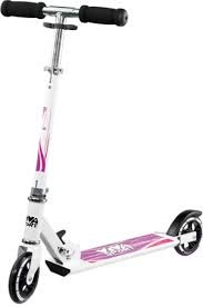 Viva, Alu-Scooter Rose 125cm, Weiss/Rosa