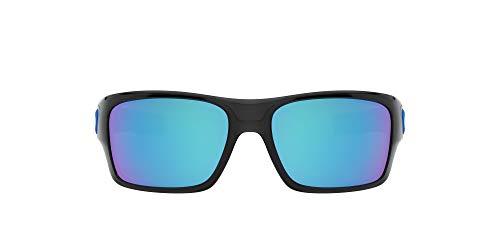 Ray-Ban Kids' Turbine Xs 900303 zonnebril, zwarte inkt/sapphireiridium, 57