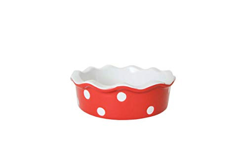 Isabelle Rose - IR5102 - Mini quiche / tarteforme - lunares rojos