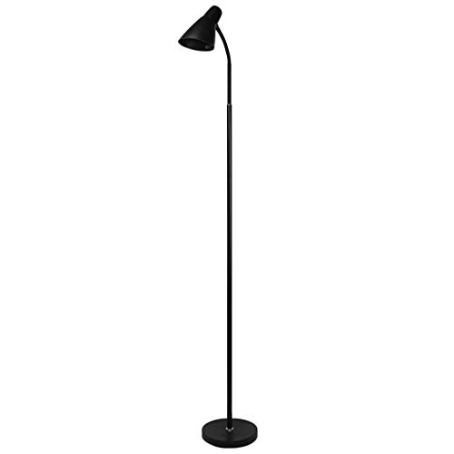 QTDH verstelbare Lettura staande vloerlamp van metallic torchiere palen hoog terra voor slaapkamer, studio camera