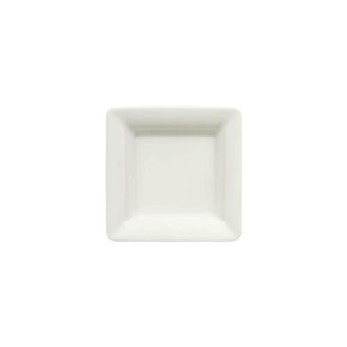 Villeroy & Boch Pi Carré Coupelle plate, 9x9 cm, Porcelaine Premium, Blanc