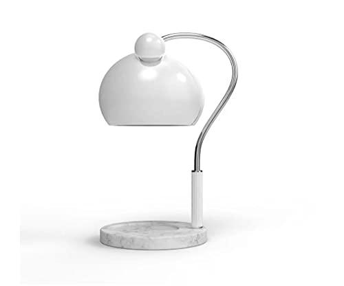 JZRHMJHW Lámpara de Mesita de Noche,Lámpara de Mesa de Cera de fusión de Velas de aromaterapia lámpara de Fragancia de Vela de fusión Regulable lámpara de Mesa de Metal INS
