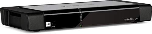 TechniSat Technibox S1+ hochwertiger digital HD Sat Receiver (HDTV, DVB-S/S2, PVR Aufnahmefunktion, Timeshift, HDMI, USB, Unicable tauglich, HD+ Karte) schwarz