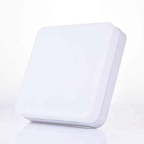 48W Luz de Techo LED 4320lm Lámpara de Techo Cuadrado de Plafón LED Downlight para Interiores 6500K Blanco Frío Lámpara de Techo para dormitorio Cocina Pasillo Oficina Comedor AC85-265