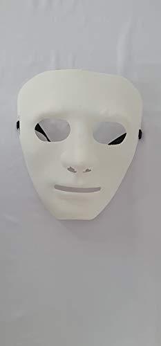 Máscara bonitão (Branco)