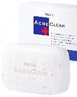 Mistine Acne Clear Comedolytic Soap Scrub Moisturizers & Deodorant Activity Amazing of Thailand