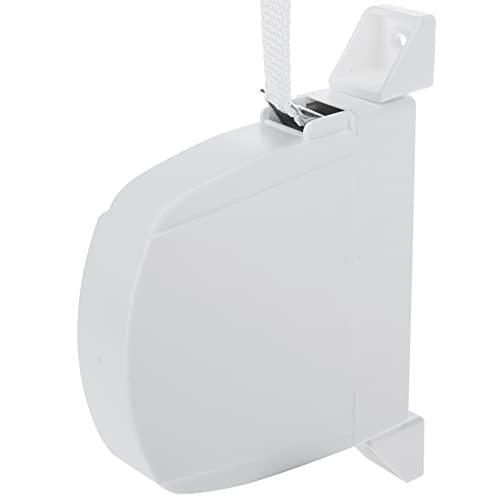 PrimeMatik - Recogedor abatible para persiana en Color Blanco
