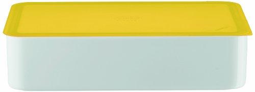 Arzberg-Porzellan 3330/09997/3925 Boîte de conservation avec couvercle en plastique Jaune 25 x 15 cm