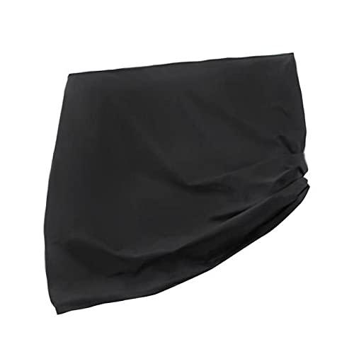 YAHAO Cubierta de Mesa de Ping Pong Al Aire Libre Impermeable Vertical,Cubierta de Mesa de Tenis de Mesa Multifuncional Cubierta Protectora de Muebles Negra Plegable Impermeable y a Prueba,155cm