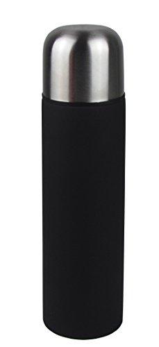 Bouteille isotherme 0,5 l en acier inoxydable Noir