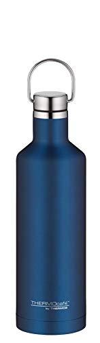 ThermoCafé by THERMOS Thermosflasche Traveler Bottle blau 500ml, Edelstahl Trinkflasche 100% dicht auch bei Kohlensäure, Isolierflasche 12 Stunden heiß, 24 Stunden kalt, BPA-Frei, 4070.259.050