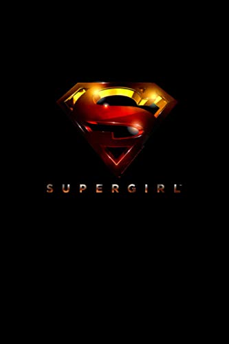 Supergirl: TV Series Logo Glare 3D Notebook 114 Pages 6''x9'' College Rule