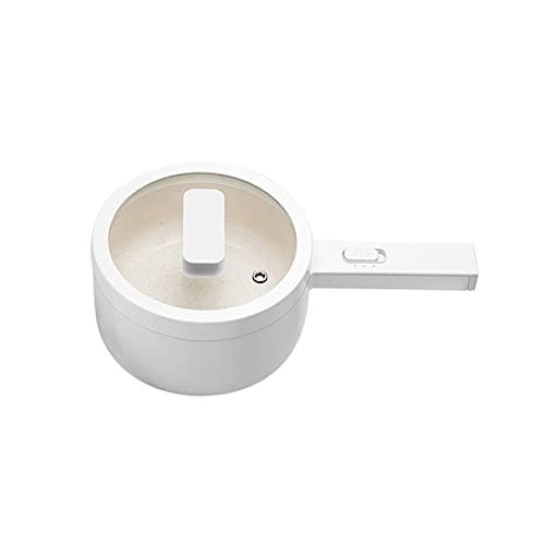 GDYJP Küchentopf Multifunktionale/elektrische Herd Pfanne Hot Pot Tragbare Lebensmittel Dampfer 1.5L Elektrische Lunchbox Küchenwerkzeuge Frühstück (Color : A)