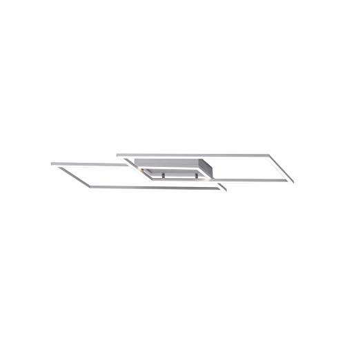 Paul Neuhaus, LED Deckenleuchte, edelstahl, Simply Dim, 35W-1750lm