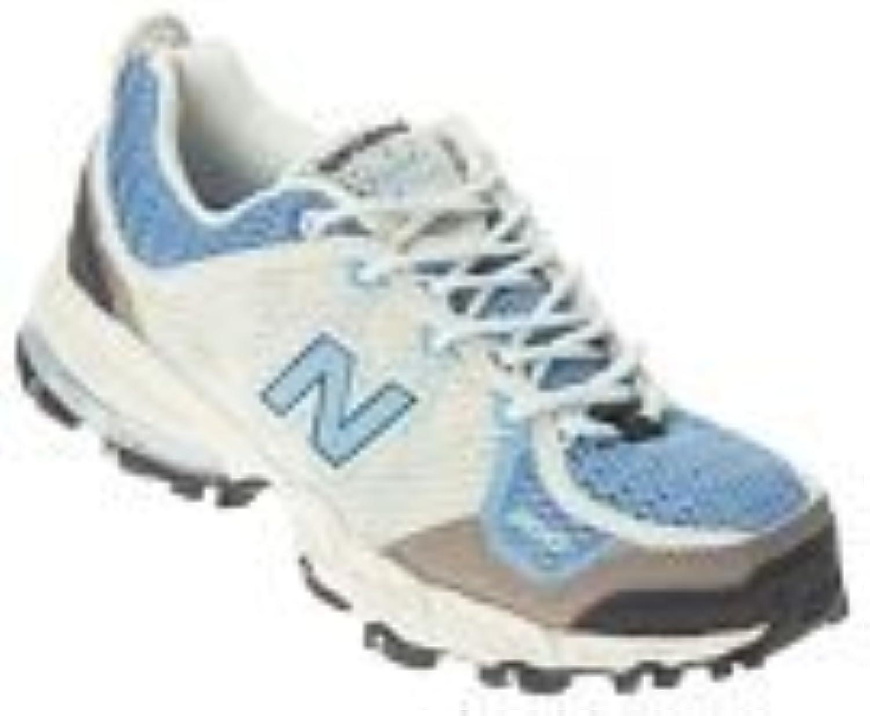 New Balance Women's WT810 Trail Running shoes Black bluee