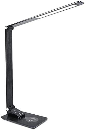 KFJZGZZ Lámpara de Escritorio Teléfono móvil Lámpara de Mesa de Carga inalámbrica Plegable Multifunción Estudiante Aprendizaje Lectura Protección Ocular Escritorio LED