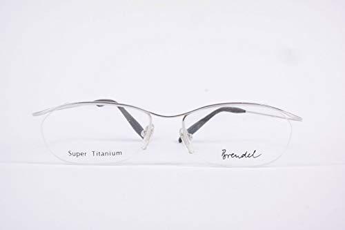 Brenndel Mod.908890 titanium 54 []17 148 zilver ovaal brilmontuur bril NIEUW