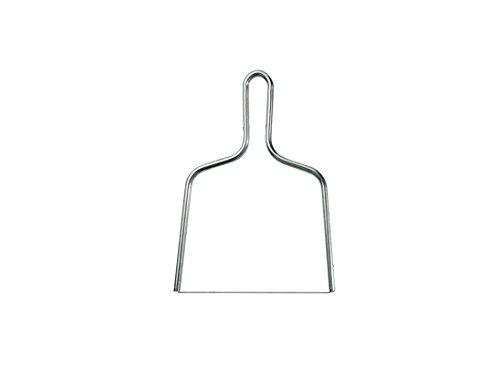 LOUIS TELLIER - Lyre 17 cm en Inox - Coupe Fois Gras, Beurre, Chèvre - Qualité Supérieure - Fabriqué en France