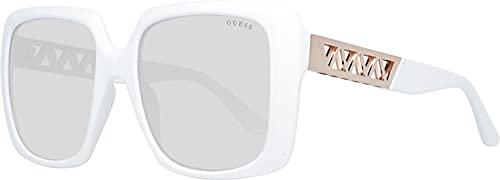 Guess occhiale da sole GU7689 21F Bianco marrone taglia 55 mm Donna