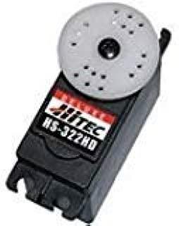 Hitec RCD USA 33322 HS-322HD Standard Heavy Duty Servo Motor, 0.19sec/60 Degree