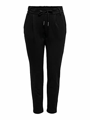 Only ONLPOPSWEAT Every Life Easy PNT Noos Pantalón de Vestir, Black, XL/32 para Mujer