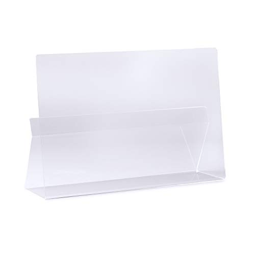 Kilo Cookbook & Tablet Stand/Rest. Splash and Splatter Protector for Your Books or Tablet. Clear Acrylic, One Size