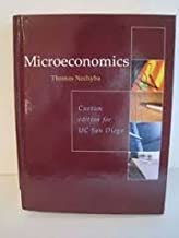 Microeconomics, custom edition for UCSD