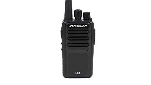 Dynascan L88 - Walkie Talkie para uso libre, color negro