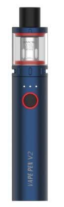 SMOK Vape Pen V2 Kit con tanque de 3 ml Batería incorporada de 1600 mAh Dispositivo de vapor de 60 W 0.15ohm Vape Pen Bobina de malla 0.6ohm DC Bobinas