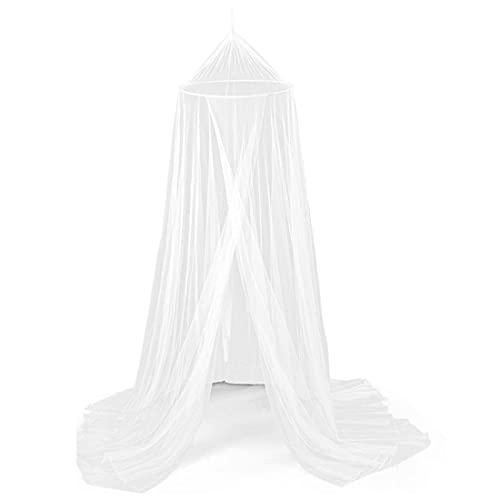 Universal blanca Dome Malla de mosquitera HANEL-mosquito net for bed,mosquitera cama,mosquitero para camas,mosquitera techo para Camas Individuales y Dobles,Hamacas Cunas