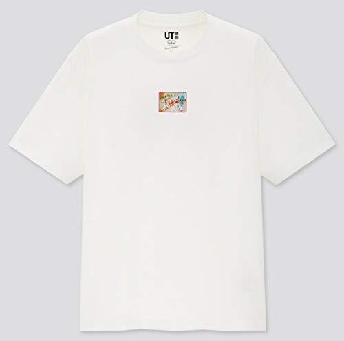 XLサイズ 米津玄師 ユニクロ コラボUT Tシャツ ホワイト 猫ちゃん