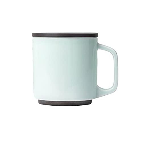 WHL Taza de cerámica con Taza de té Taza de té Regalo de cumpleaños Taza de café para Hombres y Mujeres Taza de Horno de guwu (Color : Heart-Warming mug)