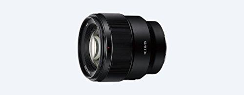 Sony SEL-85F18 Porträt Objektiv (Festbrennweite, 85 mm, F1.8, Vollformat, geeignet für A7, A6000, A5100, A5000 und Nex Serien, E-Mount) schwarz
