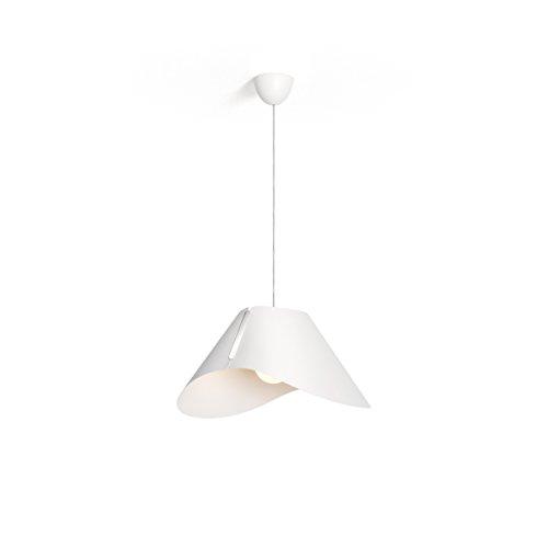 Philips Lighting Consumer Lampada A Sospensione Ecru 60w Attacco E27 Tessuto Bianco, 4095031PN