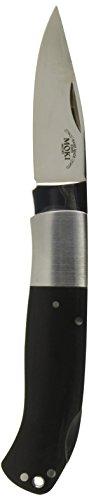 Moki Unisex– Erwachsene Taschenmesser M Micarta, silber, one size