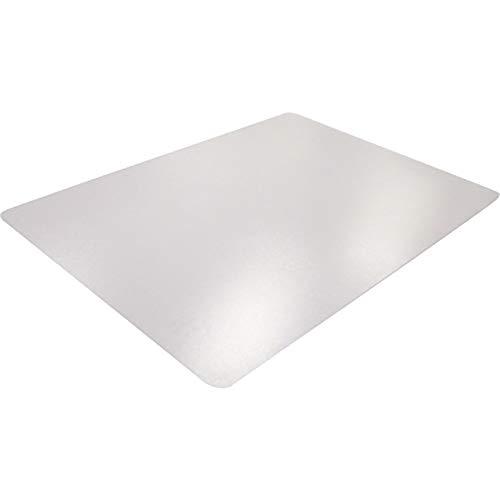 Bodenschutzmatte für niederflorigen Teppich aus Vinyl 120 x 90 cm