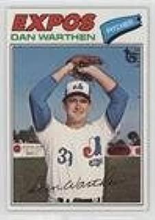 Dan Warthen (Baseball Card) 2014 Topps - 75th Anniversary Buybacks #1977-391