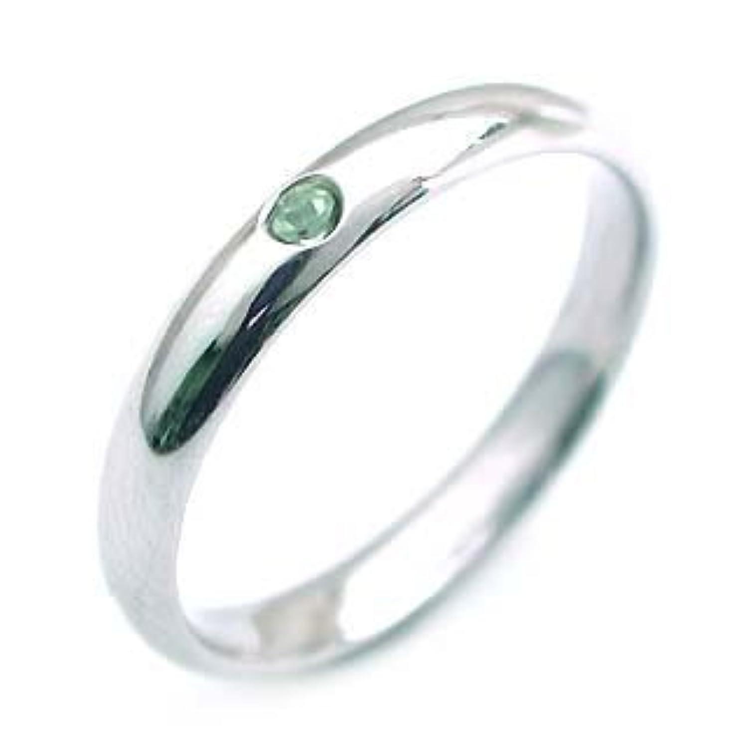 代わって花輪お勧め結婚指輪?マリッジリング?ペアリング( 8月誕生石 )ペリドット #21