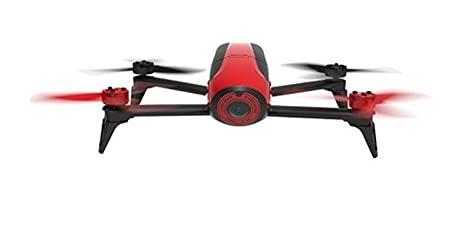 Parrot Bebop 2 Quadcopter Drone, Red (Renewed)