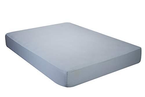 Pikolin Home - Sábana Bajera Ajustable, 100% Algodón, 105 x 200 cm - Cama 100/105 (Todas las medidas)